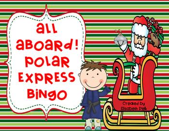 All Aboard! Polar Express Bingo