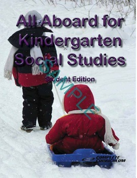 All Aboard for Kindergarten Social Studies Digital Student
