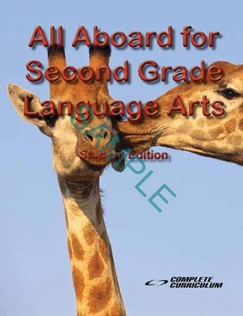 All Aboard for Second Grade Language Arts Digital Student