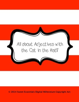 All About Adjectives with the Cat in the Hat!