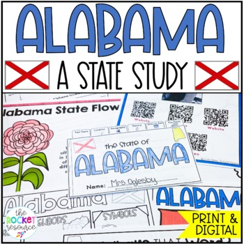 All About Alabama: Informational text including facts, geo
