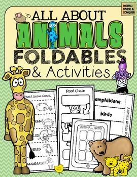 All About Animals: Foldables and Activities!
