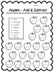 All About Apples - Print & Go Math, Language Arts, & Scien