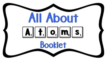 All About Atoms booklet