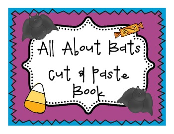 All About Bats Cut & Paste Book