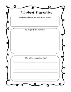 All About Biographies