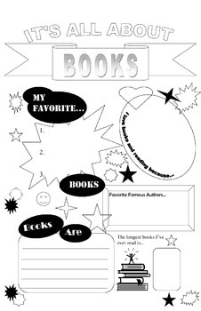 All About Books Poster 11 x 17