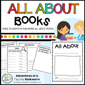 All About Books Writing Template