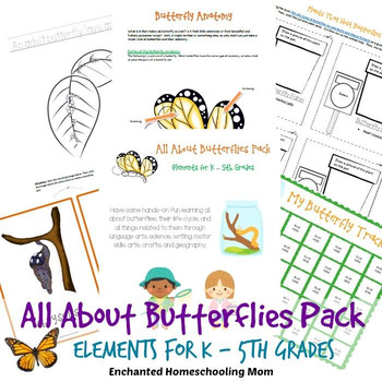 All About Butterflies Pack