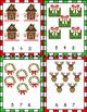All About Christmas Math Centers for Preschool, PreK, K &