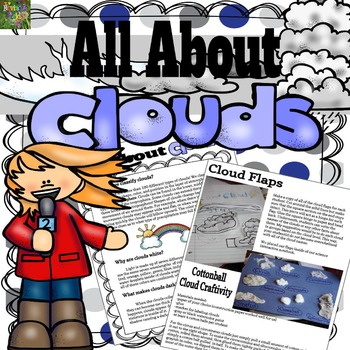 All About Clouds : Information Booklet, Mini posters, Work