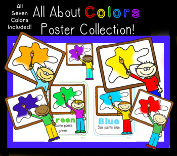 All About Colors - Posters