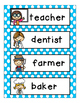 All About Community Helpers Literacy Centers for Pre-K, K,