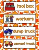 All About Construction Literacy Centers for Preschool, Pre