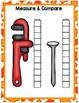 All About Construction Math Centers for Preschool,  PreK,