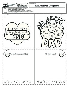 Father's Day: All About Dad Doughnuts