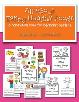All About Eating Healthy Foods non fiction book for beginn