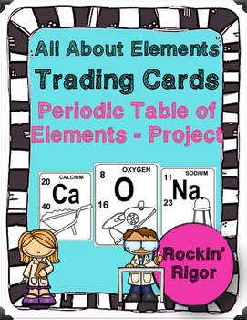 All About Elements - The Periodic Table of Elements - Trad