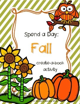 Create-a-Book About Fall (Holidays, Weather, Animals, Nature)