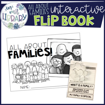All About Families: Interactive Flip Book  #springbackin