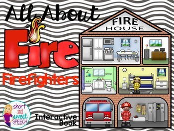 All About Firefighters: Interactive Book and Homework Companion