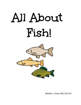 All About Fish! an Adapted book