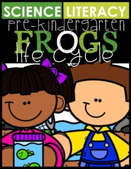 FROG LIFE CYCLE {At the Creek}: