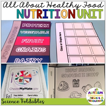 All About Healthy Foods: Nutrition Unit for Special Educat