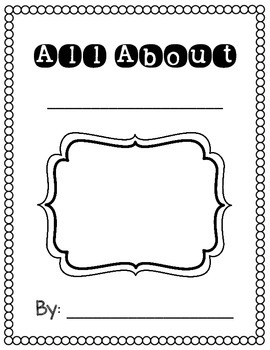 All About {Informational} Book Templates