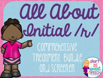 All About Initial /r/: Comprehensive Treatment Bundle and