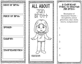 All About Jan Brett - Biography Research Project - Interac