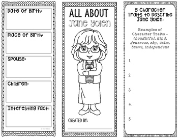 All About Jane Yolen - Biography Research Project - Intera