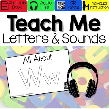 Teach Me Letters and Sounds: Letter Ww [Audio & Interactiv