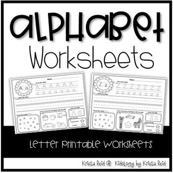 Alphabet Activities and No Prep Printables