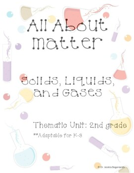 All About Matter-An Inquiry-Based Thematic Unit