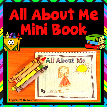 All About Me Foldable Mini Book