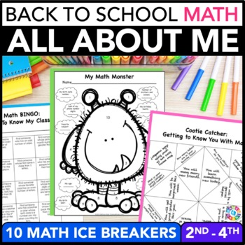 Back to School Activities: All About Me Math
