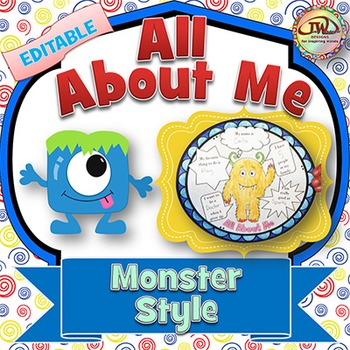 All About Me - Monsters Theme