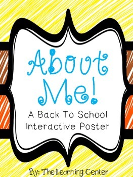 All About Me! An Interactive Poster!