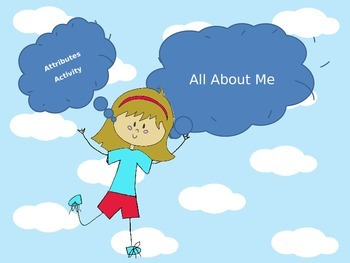All About Me Attributes Geometry Activity
