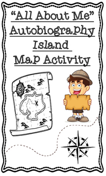 All About Me Autobiography Island Map Social Studies Geogr