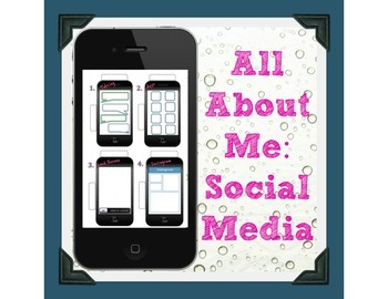 All About Me Back to School Activity: Cell Phone Bundle