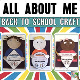 All About Me - Back to School Craft