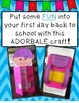 All About Me Bag {Back to School Activity}