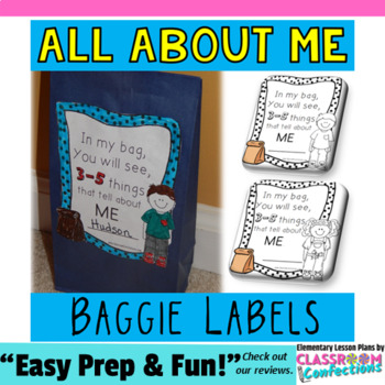 All About Me Bag: A First Week of School Activity