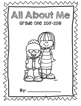 All About Me - Beginning/End of Year Memory Book