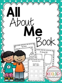 All About Me Activities and Printables