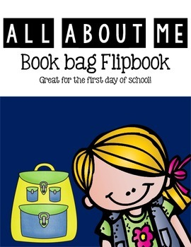 All About Me Book Bag Flipbook
