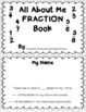 All About Me Book:  Fractions!