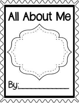 All About Me Book K-2